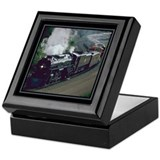 Trains Square Keepsake Boxes