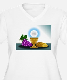 eucharist Plus Size T-Shirt