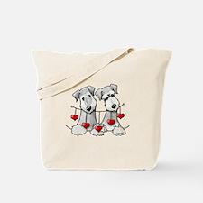 Heartstrings Pocket Ceskies Tote Bag