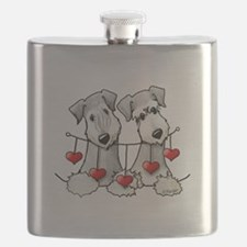 Heartstrings Pocket Ceskies Flask