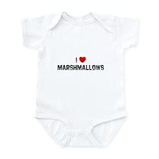 I * Marshmallows Infant Bodysuit