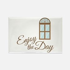 Enjoy The Day Magnets