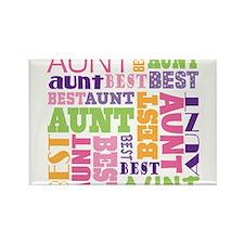 Cute Aunt Rectangle Magnet