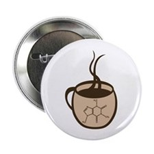 "Caffeine Cup 2.25"" Button (10 pack)"