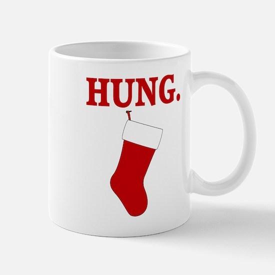 HUNG Funny Christmas Mugs