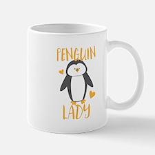 Penguin Lady Mugs
