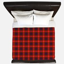 Fraser Scottish Tartan King Duvet
