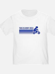 Cute Peace love cycling T