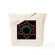 Cute Vegan logo Tote Bag