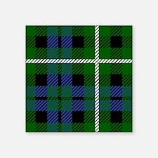 Graham Scottish Tartan Sticker