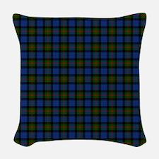 Gunn Scottish Tartan Woven Throw Pillow