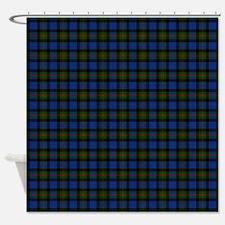 Gunn Scottish Tartan Shower Curtain