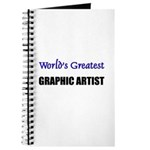 Worlds Greatest GRAPHIC ARTIST Journal