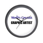 Worlds Greatest GRAPHIC ARTIST Wall Clock