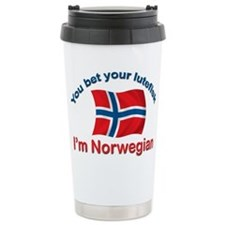 Cute Norwegian Thermos Mug