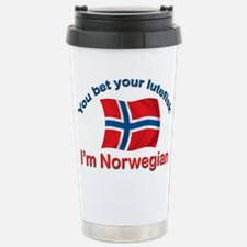 Funny Norwegian Travel Mug