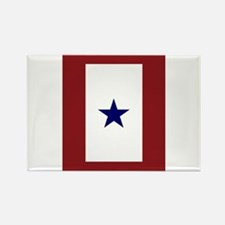 Cute Blue star Rectangle Magnet (10 pack)