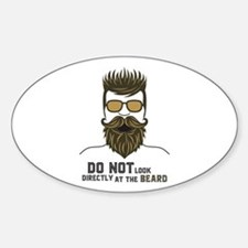 Do not look directly at the beard. Decal