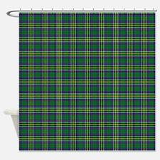 Hunter Scottish Tartan Shower Curtain