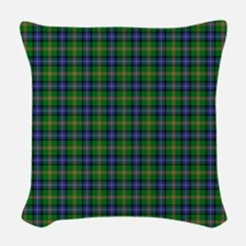 Jones Scottish Tartan Woven Throw Pillow
