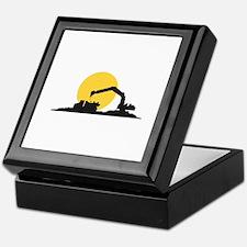 Construction Site Keepsake Box