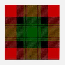 Kerr Scottish Tartan Tile Coaster