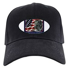 Black Lab USA Flag Baseball Hat