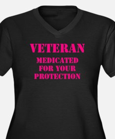 VETERAN MEDICATED FOR YOUR PROTE Plus Size T-Shirt