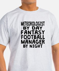 Meteorologist Fantasy Football Manager T-Shirt