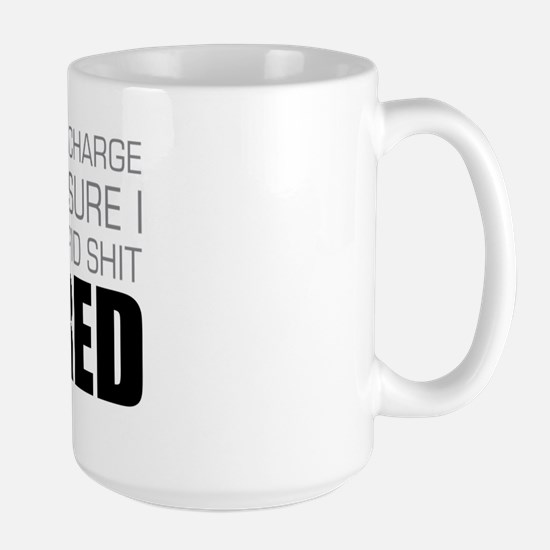 Stupid Shit Large Mug