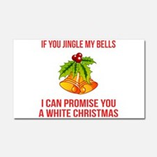 Jingle My Bells Car Magnet 20 x 12