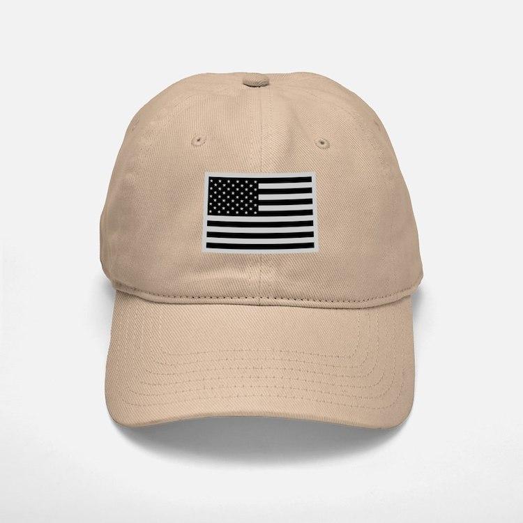 Subdued US Flag Tactical Baseball Baseball Cap