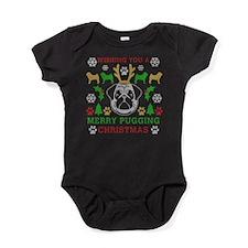 Merry Pugging Christmas Pug Original Baby Bodysuit