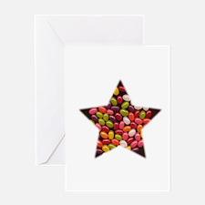 JELLYBEAN STAR EASTERCANDY Greeting Card