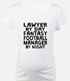 Lawyer Fantasy Football Manager Shirt