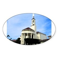 countrychurch Oval Decal