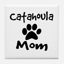 Catahoula Mom Tile Coaster