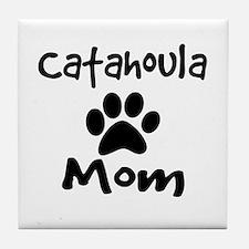 Catahoula Mom Tile Coaster