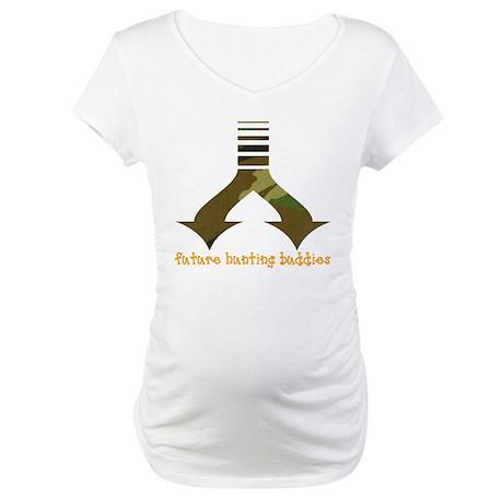 Future hunting buddies - Twin Maternity T-Shirt