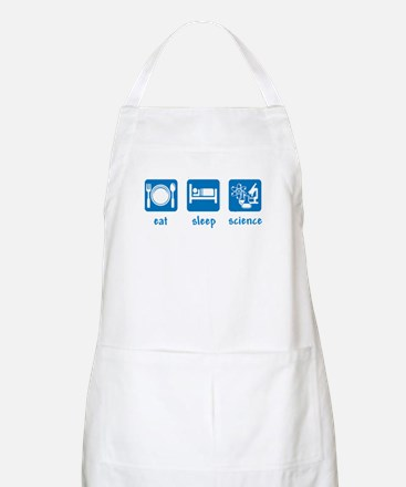 eat drink science BBQ Apron