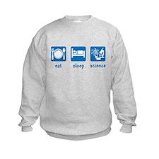 eat drink science Sweatshirt