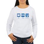 eat drink science Women's Long Sleeve T-Shirt