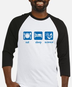 eat drink science Baseball Jersey