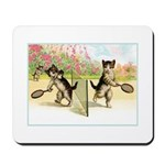 VINTAGE CAT ART Mousepad