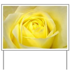 Yellow Roses Yard Sign