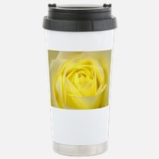 Yellow Roses Stainless Steel Travel Mug