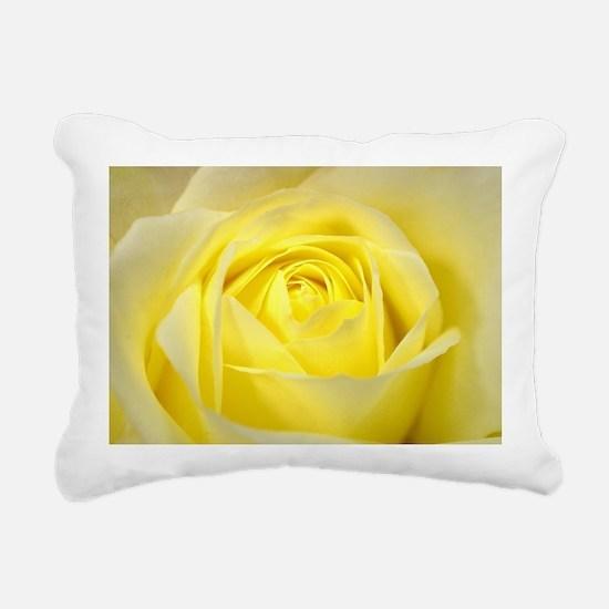 Yellow Roses Rectangular Canvas Pillow