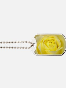 Yellow Roses Dog Tags