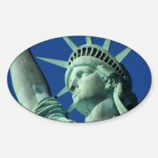 The Statue of Liberty Sticker (Oval)