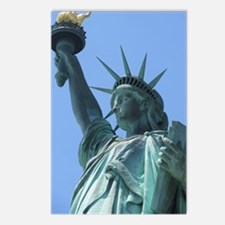 The Statue of Liberty Postcards (Package of 8)
